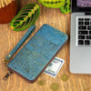 Turquoise Cork Vegan Purse - Issara Fairtrade
