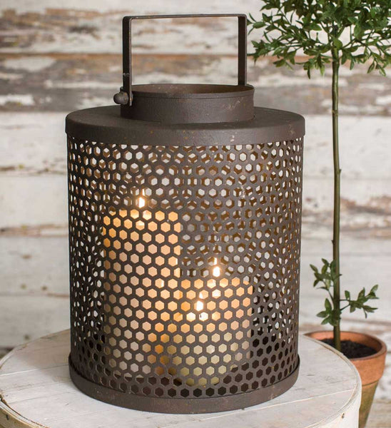 Rustic Chimney Lantern - Antler Road