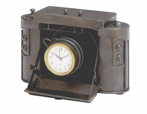 OLD TIME CAMERA CLOCK - Antler Road