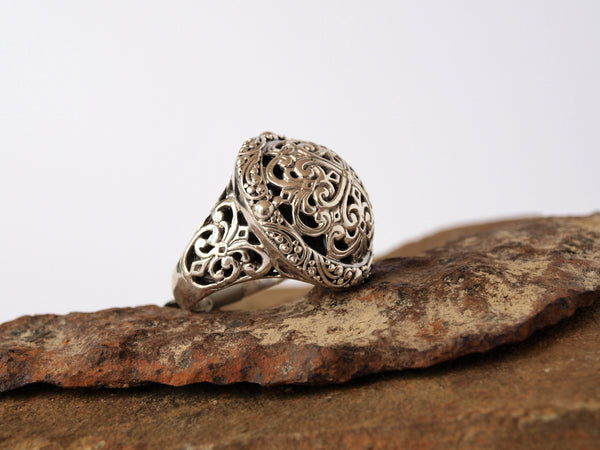 Sterling Silver Ring - Antler Road