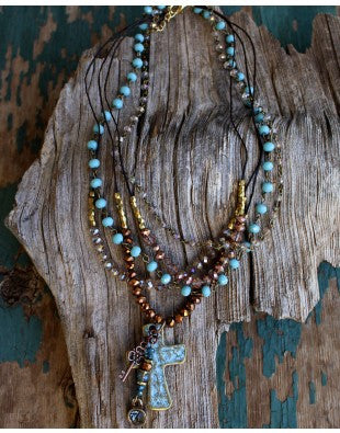 Leah Necklace - Antler Road