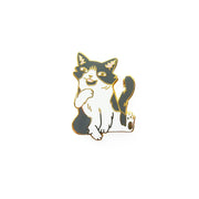 Sam Cat Pin - Oh Plesiosaur