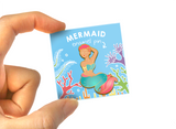 Pink Hair Mermaid Enamel Pin
