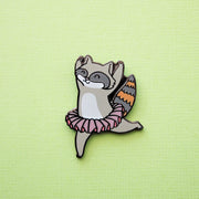 Badger and Raccoon Pin Set - Oh Plesiosaur