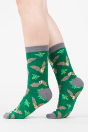 Bat and Moth Socks - Oh Plesiosaur