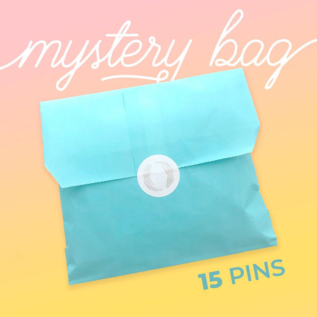 Big Mystery Bag - 15 Seconds Pins!