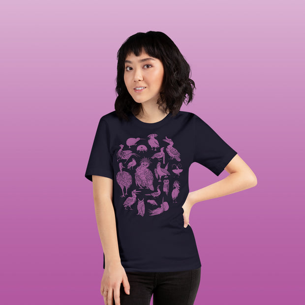PREORDER: Dignified Birds Tee - Oh Plesiosaur