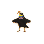 Parotia Bird-of-paradise Pin - Oh Plesiosaur