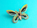 Queen Alexandra's Birdwing Enamel Pin