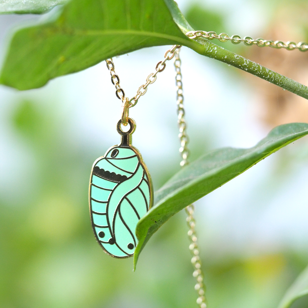 Chrysalis Necklace - Oh Plesiosaur