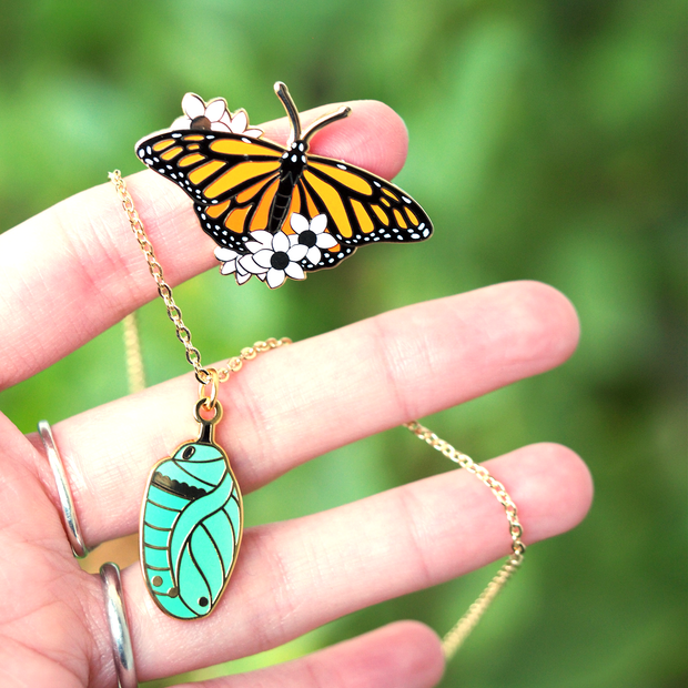 Chrysalis Necklace