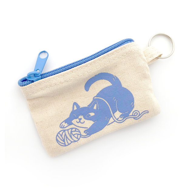 Yarn Cat Coin Pouch - Oh Plesiosaur