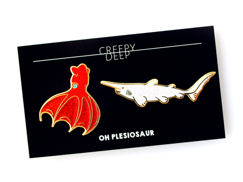Creepy Deep Pin Set