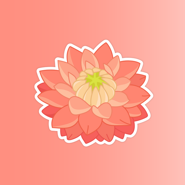 Flower Sticker Pack - Oh Plesiosaur