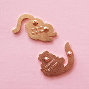 Pygmy Marmoset and Possum Pin Set - Oh Plesiosaur