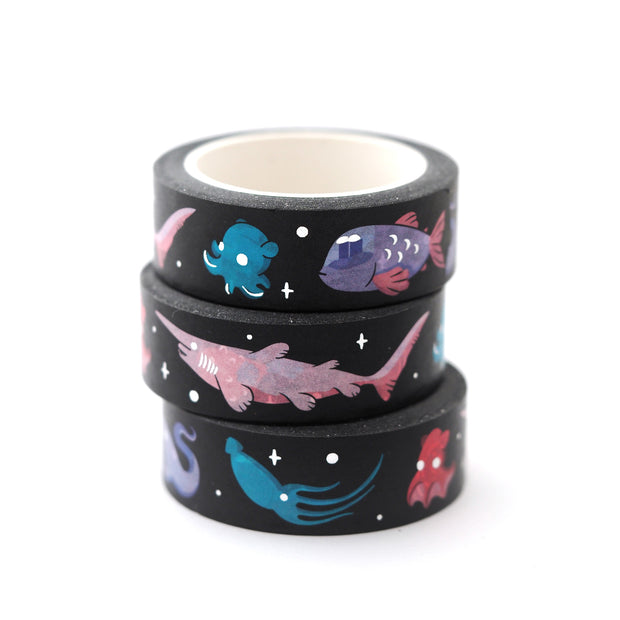 Deep Sea Washi Tape - Oh Plesiosaur
