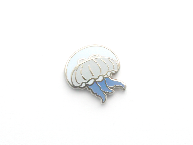 Mini Moon Jelly Pin - Oh Plesiosaur
