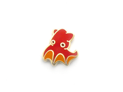 Mini Vampire Squid Pin - Oh Plesiosaur