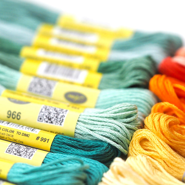 Embroidery Floss - 250 Skeins - Oh Plesiosaur
