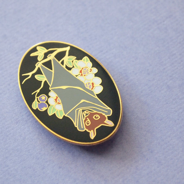 Seconds Sale - Flying Fox Pin - Oh Plesiosaur