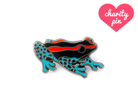 Poison Frog Pin