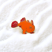 Seconds Sale - Frogfish Pin - Oh Plesiosaur