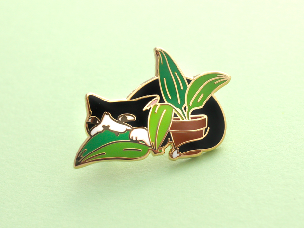 Loki Pin - Plant Menace - Oh Plesiosaur