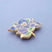 Purple Bougainvillea Pin - Oh Plesiosaur