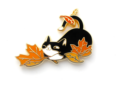 Loki Pin - Fall Foliage - Oh Plesiosaur