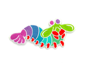 Mantis Shrimp Patch - Oh Plesiosaur
