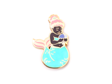 Blue Mergirl Enamel Pin