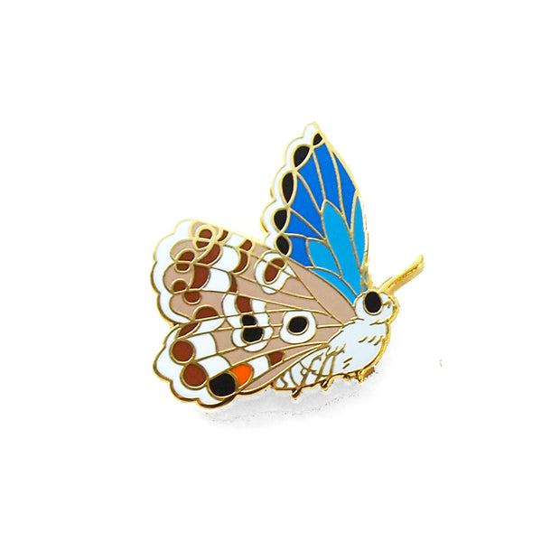 Miami Blue Butterfly Pin - Oh Plesiosaur