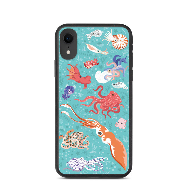 Cephalopod iPhone Case - Biodegradable