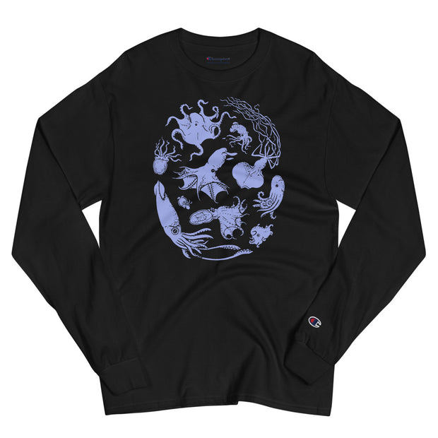 Deep Sea Cephalopod Unisex Long Sleeve Shirt
