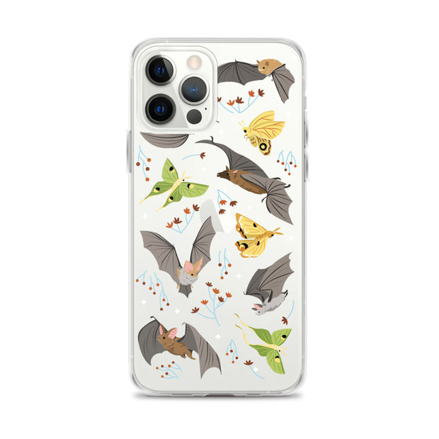 Bats & Moths iPhone Case