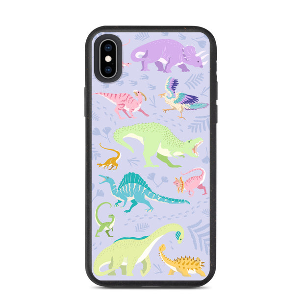 Dinosaur iPhone Case - Biodegradable