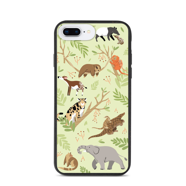 Rainforest iPhone Case - Biodegradable