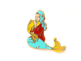 Red Muslim Mermaid Enamel Pin