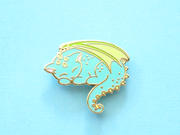 Seconds Sale - Dragon Cat Pin - Oh Plesiosaur