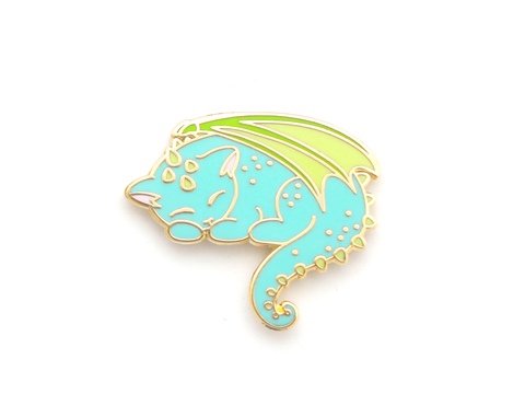 Dragon Cat Pin