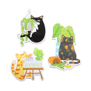 Naughty Cats Sticker Pack - Oh Plesiosaur