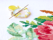 Embroidery Octopus Needle Minder - Oh Plesiosaur
