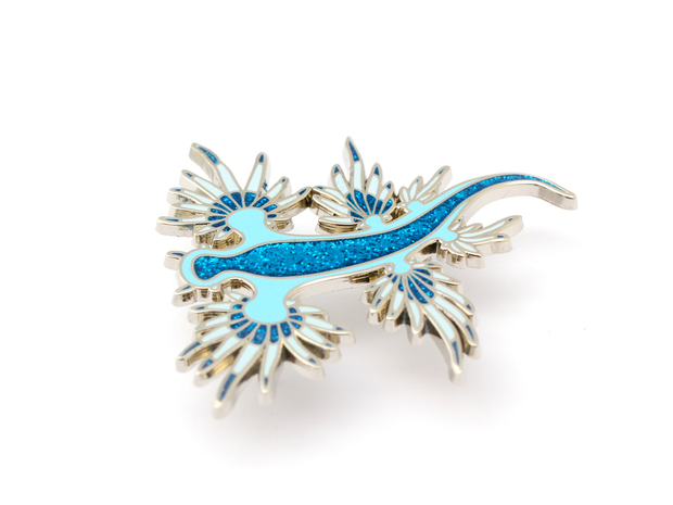 Nudibranch Pin - Oh Plesiosaur