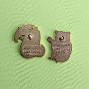 The Owl and The Pussy-cat Pin Set - Oh Plesiosaur