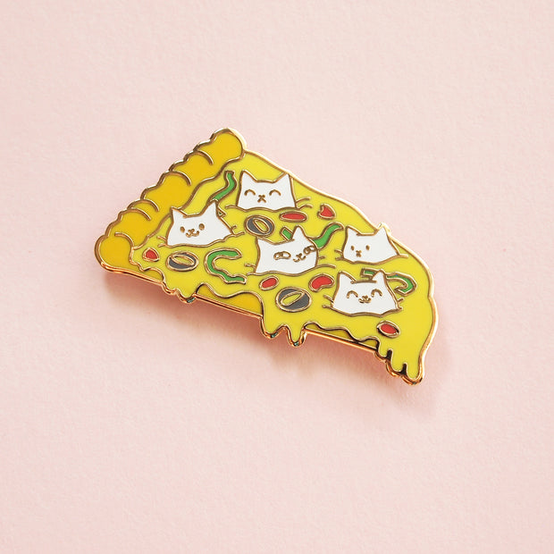 Pizza Cats Pin - Oh Plesiosaur