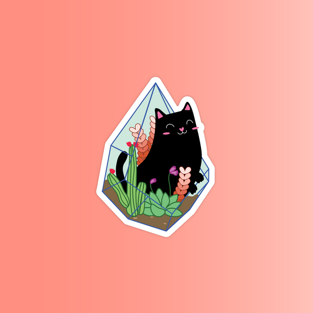 Plant Cats Sticker Pack - Oh Plesiosaur