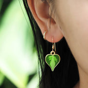 Philodendron Brasil Earrings