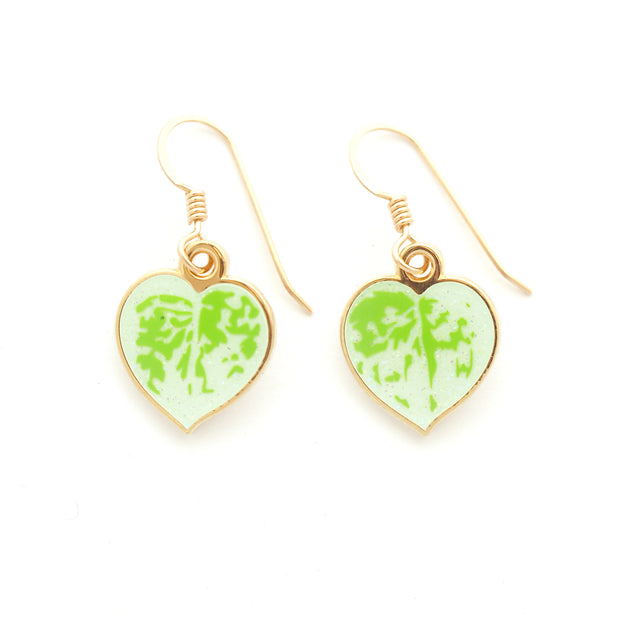 Satin Pothos Earrings