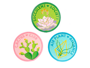 Succulent Society Patch - Oh Plesiosaur