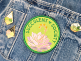 Succulent Society Patch